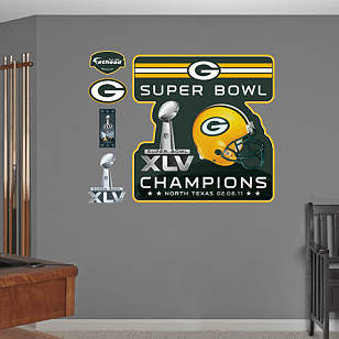 Green Bay Packers Super Bowl XLV Champions Logo