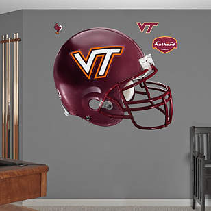 Virginia Tech Hokies Helmet