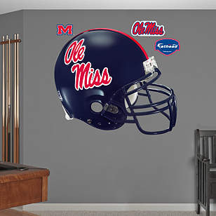 Ole Miss Rebels Helmet