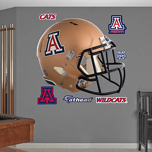 Arizona Wildcats Copper Helmet