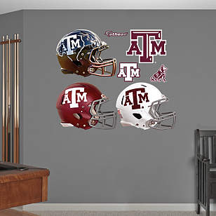Texas A&M Aggies Helmet Collection