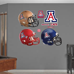 Arizona Wildcats Helmet Collection