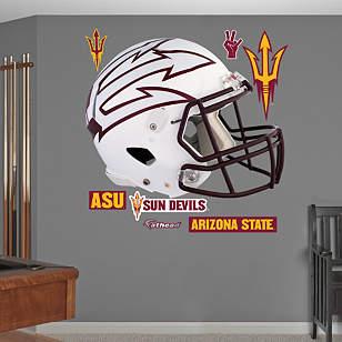 Arizona State Sun Devils White Helmet