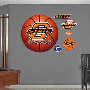 Oklahoma State Cowboys Basketball Logo