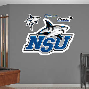 NSU Sharks Logo