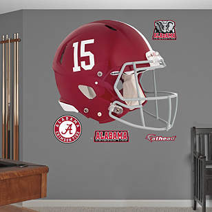 alabama crimson tide 2013 helmet wall decal shop fathead. Black Bedroom Furniture Sets. Home Design Ideas
