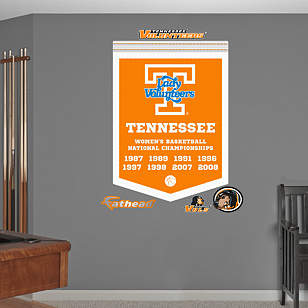 Tennessee Lady Vols Basketball National Championships Banner