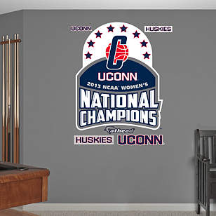 UConn 2013 NCAA® Women's Division 1 National Champion Logo