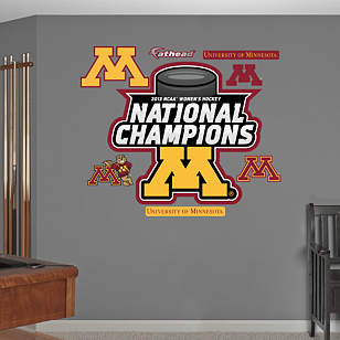 Minnesota Golden Gophers 2013 NCAA® Women's Hockey National Champions Logo