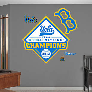 UCLA Bruins 2013 NCAA® Men's Baseball National Championship Logo