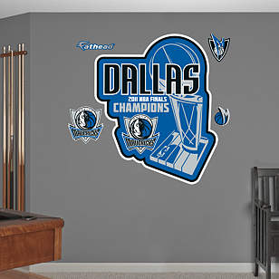 Dallas Mavericks 2011 NBA Champions Logo