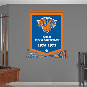 New York Knicks NBA Champions Banner
