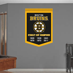 Boston Bruins Stanley Cup Champions Banner