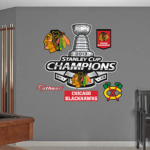 Chicago Blackhawks 2013 Stanley Cup Champions Logo