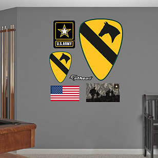 1st Cavalry Insignia Logo