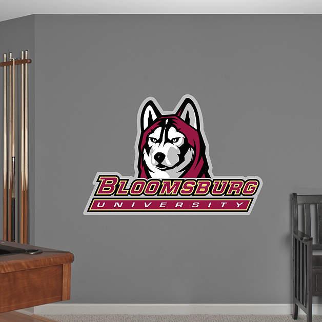 Bloomsburg Huskies Logo Wall Decal Shop Fathead For Bloomsburg Huskies Decor