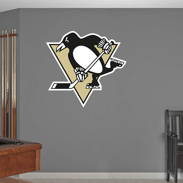 Pittsburgh Penguins Logo Wall Decal Shop Fathead For