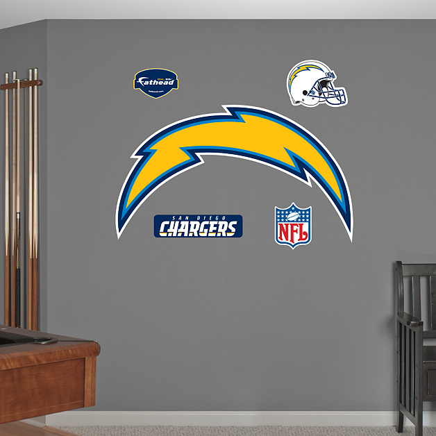 San Diego Chargers Established: San Diego Chargers Logo Wall Decal