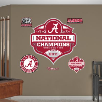 Ohio State Buckeyes National Championship Banner - NCAA Football Fathead Wall Decal