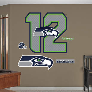 Seattle Seahawks 12 Logo