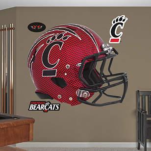 Cincinnati Bearcats Carbon Fiber Helmet
