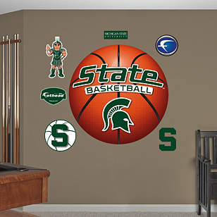 MSU Spartans Basketball Logo