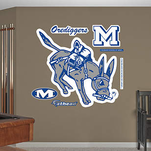 Colorado School of Mines Orediggers Logo