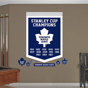 Toronto Maple Leafs Stanley Cup Champions Banner