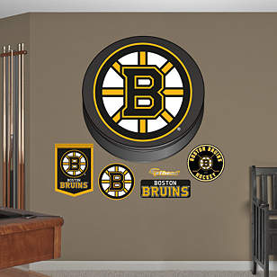 Boston Bruins Puck Logo