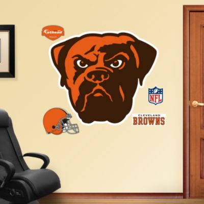 Samford Bulldogs Logo Fathead Wall Decal