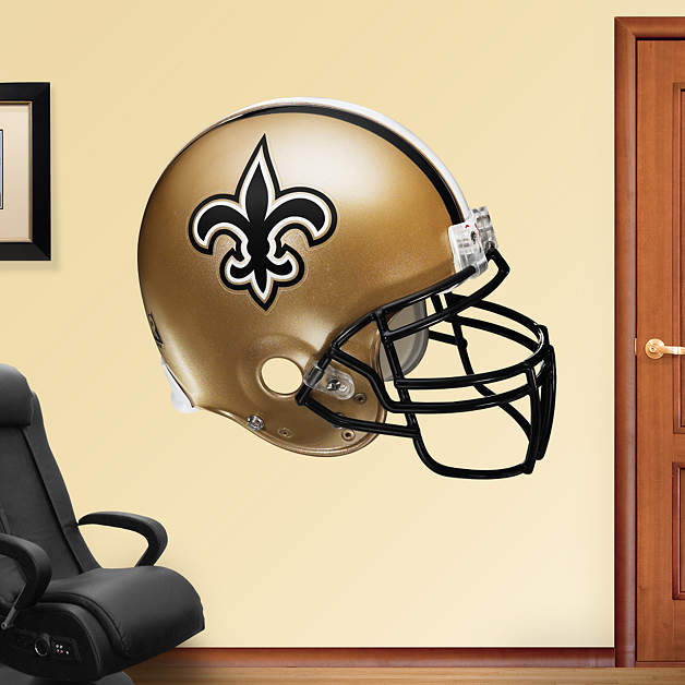 New Orleans Saints Helmet Wall Decal Shop Fathead for