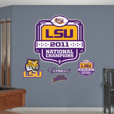 Alabama Crimson Tide 2012 BCS Champions Logo  Fathead Wall Decal