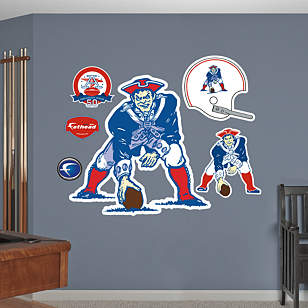 Boston Patriots Original AFL Logo