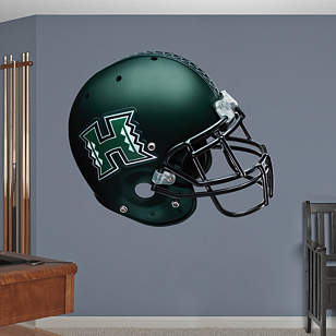 Hawaii Warriors Helmet