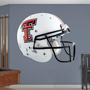 Texas Tech Red Raiders White Helmet