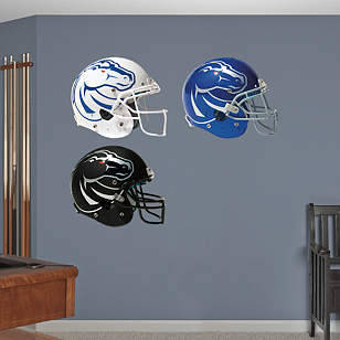 Boise State Broncos Helmet Collection