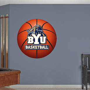 BYU Cougars Basketball Logo