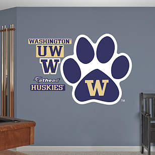 Washington Huskies Paw Logo
