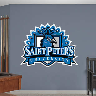 Saint Peter's Peacocks Logo