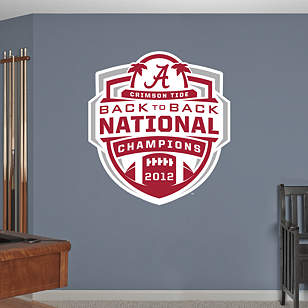 Alabama Crimson Tide 2012 BCS Champions Logo