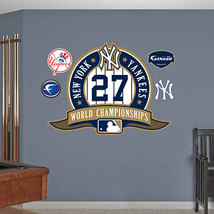 New York Yankees 27th World Series Logo