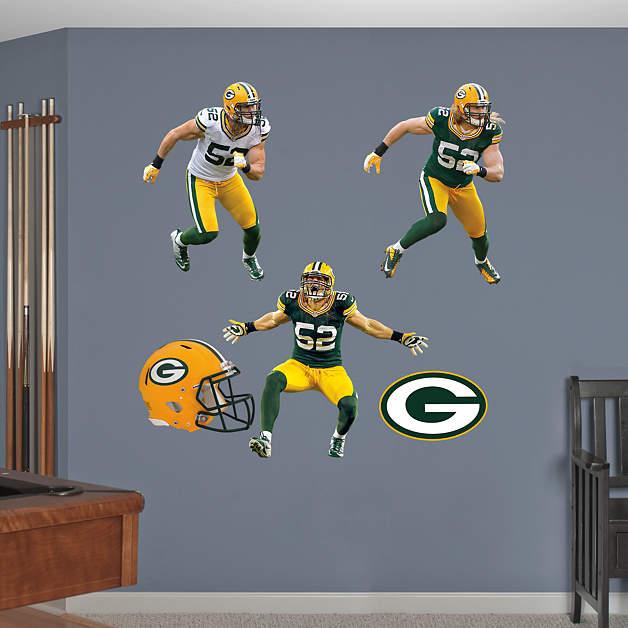 Clay Matthews Hero Pack Wall Decal Set