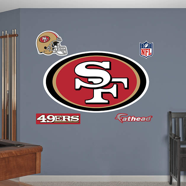 1 877 328 8877 for 49ers wall mural