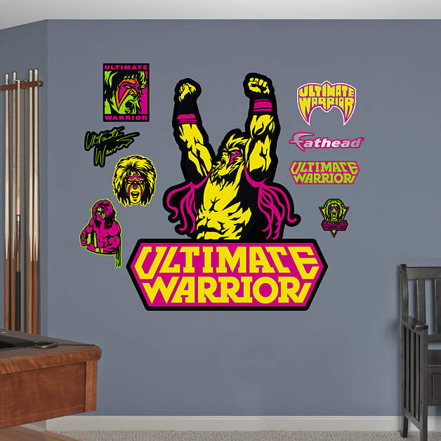 WWE Ultimate Warrior Logo