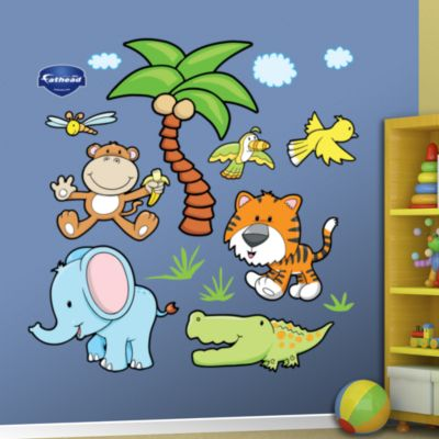 Farm Animals Group One Fathead Wall Decal