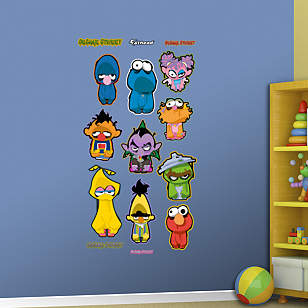 Sesame Street Zombie Collection