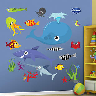Sea Creatures Group Two