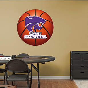 Kansas State Wildcats Basketball Logo