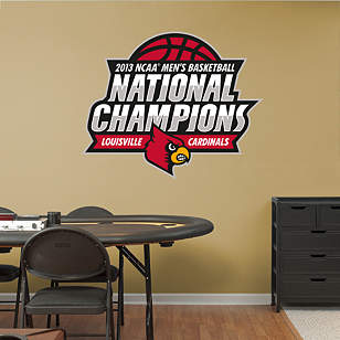 Louisville Cardinals 2013 NCAA Men's Basketball National Champions Logo