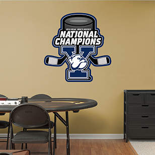 Yale Bulldogs 2013 NCAA® Men's Hockey National Championship Logo